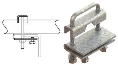 Abrazaderas para tuber a cross line - Abrazaderas para tubos ...